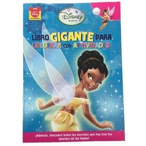 Disney Fairies Big Fun Book To Color - Iridessa